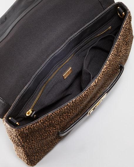 Mimosa Calf Hair Clutch Bag