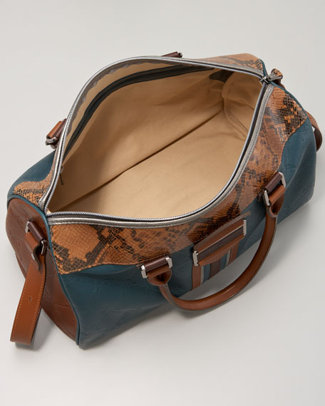 Patchwork Satchel Bag