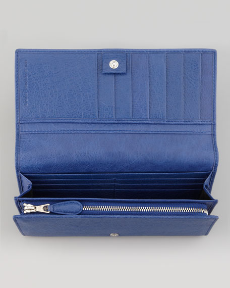 Giant 12 Nickel Money Wallet, Bluete