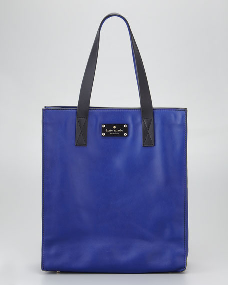 west chelsea alissa leather tote