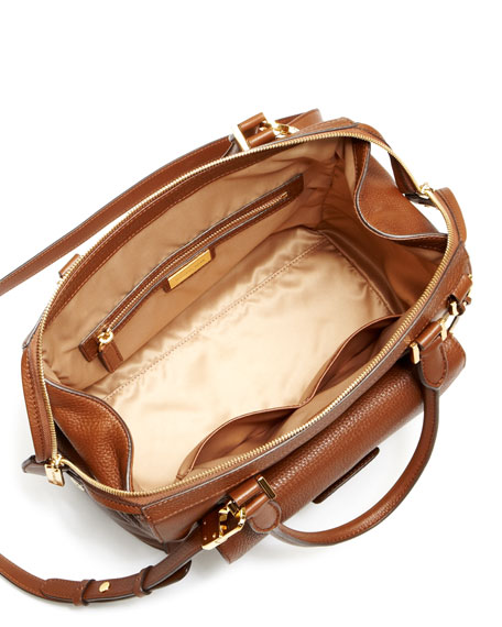 Gia Top-Zip Satchel Bag