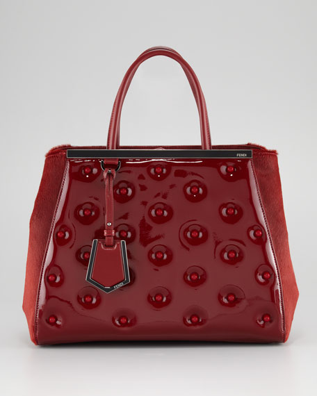 2Jours Patent Leather Tote Bag