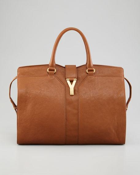 Yves Saint Laurent Chyc Large East-West Sheepskin Bag