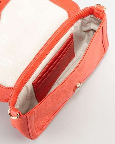 Amanda Mini Crossbody Bag, Flame Red