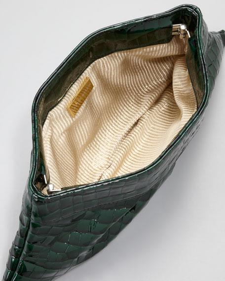 Louise Evening Clutch Bag, Emerald
