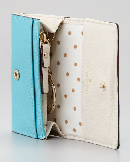 mikas pond darla small key wallet, iceburg
