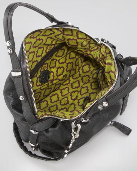 Holly Slouchy Satchel Bag, English Green