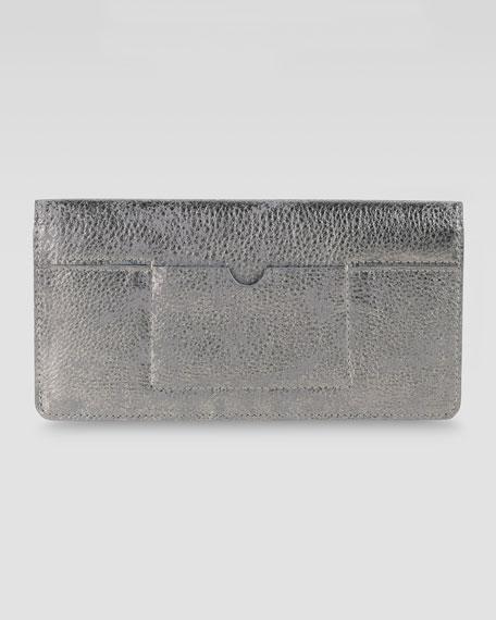 Slim Fold-Over Wallet, Gunsmoke