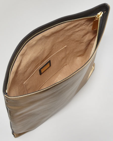 Chameleon Fold-Over Clutch Bag