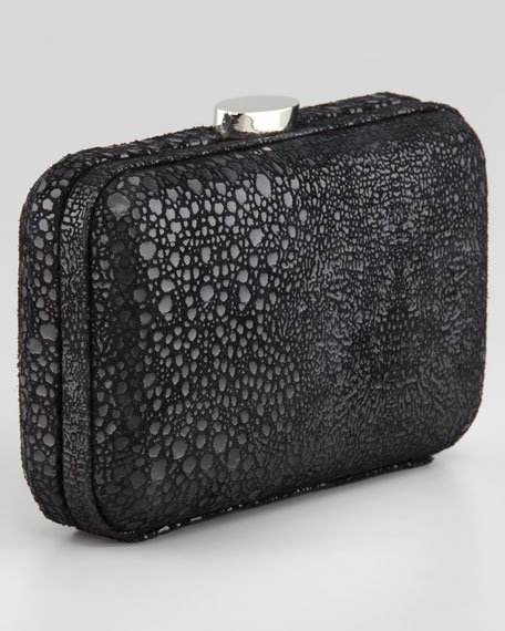 Lee Hard Case Clutch, Black