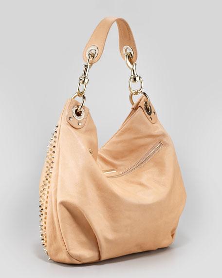Luscious Mini Studded Hobo Bag