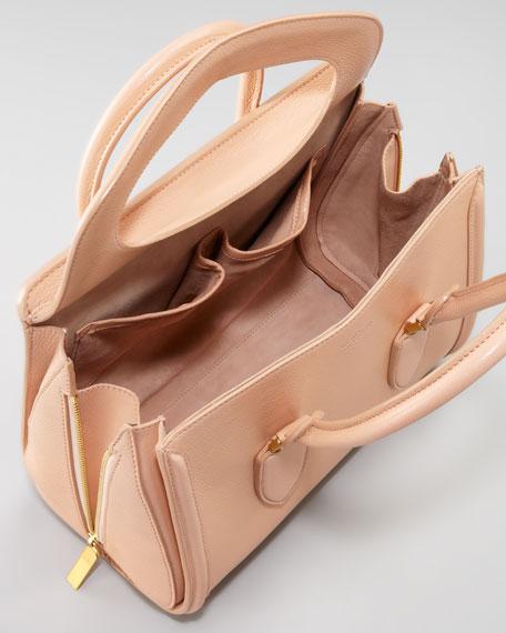 Small Heroine Satchel Bag, Blush