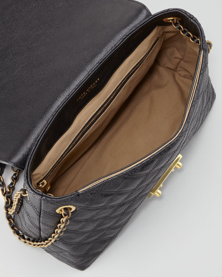 Baroque Single Extra-Large Bag, Black