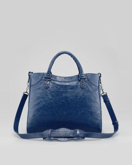 Classic Velo Bag, Bleu Mineral