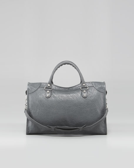 Giant 12 Mini City Satchel, Gris Tarmac