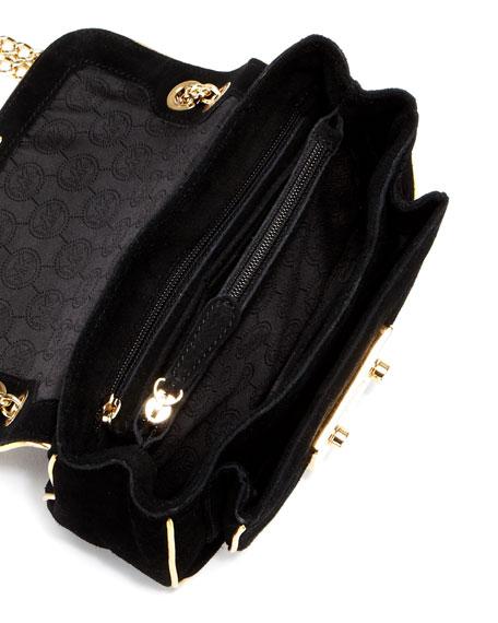 Small Sloan Suede Shoulder Bag