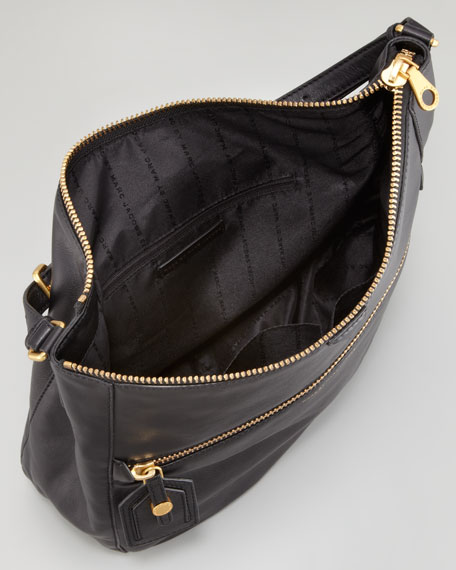 Wild Wild Willis Hobo Bag, Black