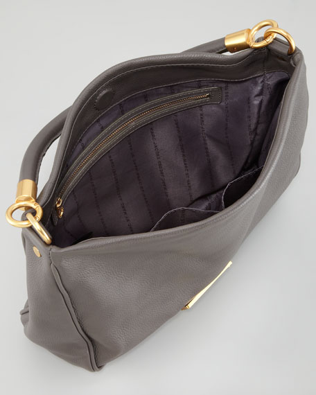 MARC by Marc Jacobs Too Hot To Handle Hobo Bag, Faded Aluminum