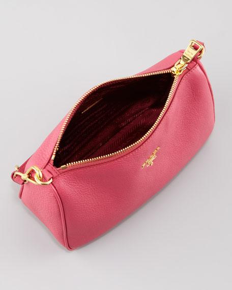 Daino Mini Shoulder Bag, Peonia