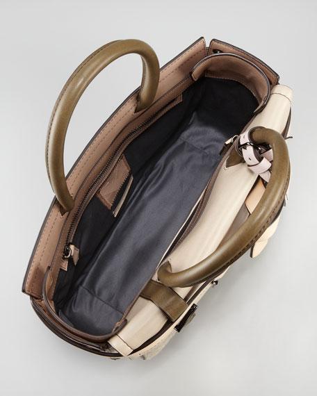 Boxer I Tote Bag, Taupe