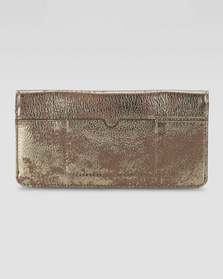 Slim Fold-Over Wallet, Medallion