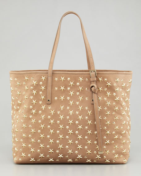 Prices Cheap Online Jimmy Choo Sasha star studded tote Discount Prices Cheap Discount Sale Excellent Cheap Online Cm8PVI