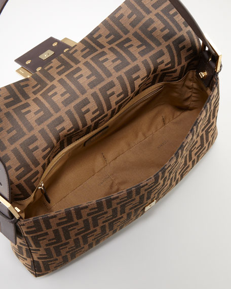 Maxi Baguette Zucca Canvas Bag