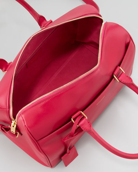 Small Duffel 6 Bag, Fuchsia
