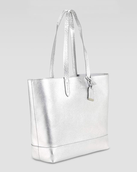 Haven Tote Bag, Silver