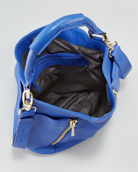 Leather Convertible Hobo