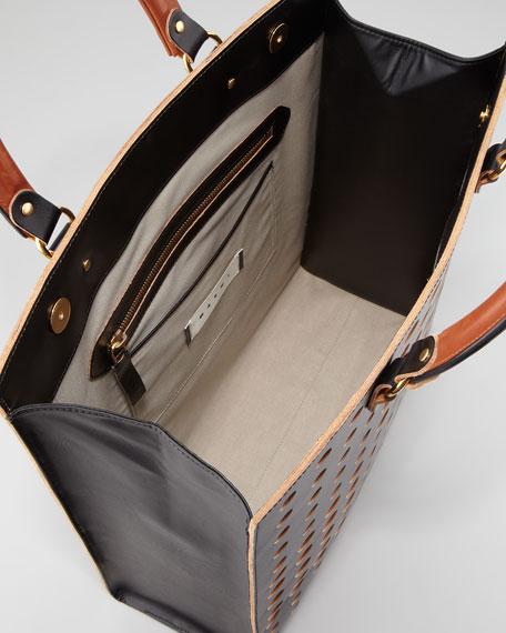 Dot North-South Tote Bag