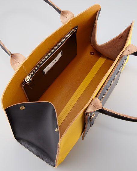 Colorblock Shopping Bag