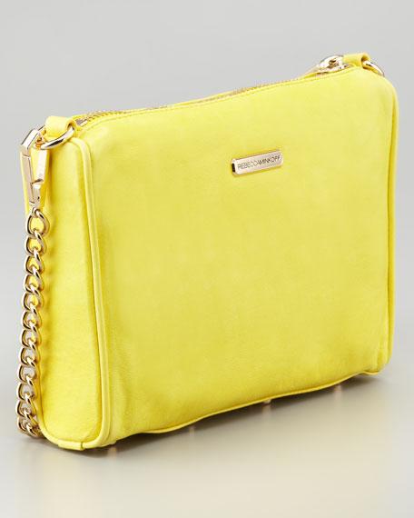 Five-Zip Mini Bag, Canary
