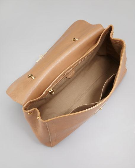 The 1984 Satchel Bag, Beige