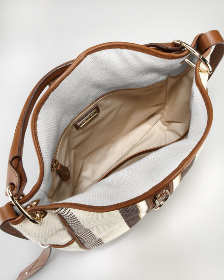 Nash Raffia Hobo Bag