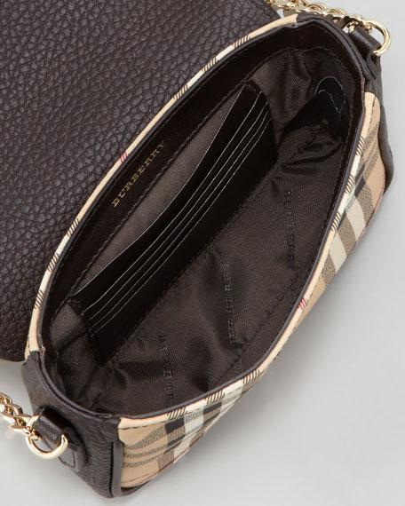 Haymarket Check Mini Chain Crossbody Bag