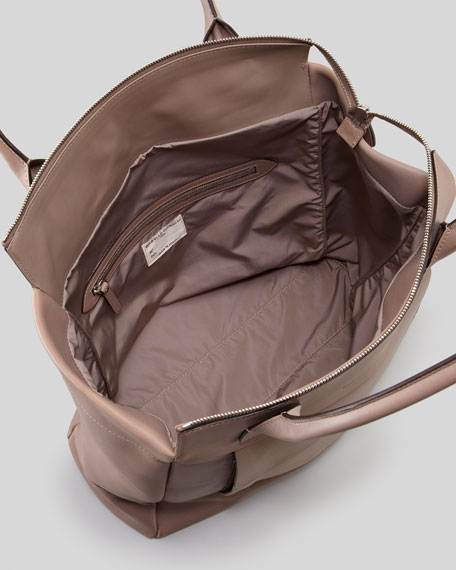 Front Pocket Tote Bag, Cocoa