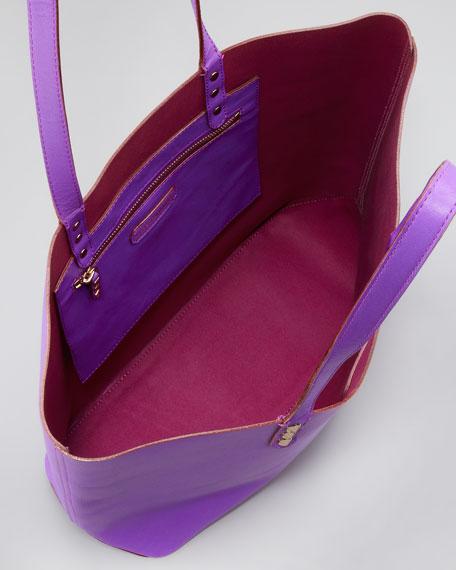Dylan Tote Bag, Purple