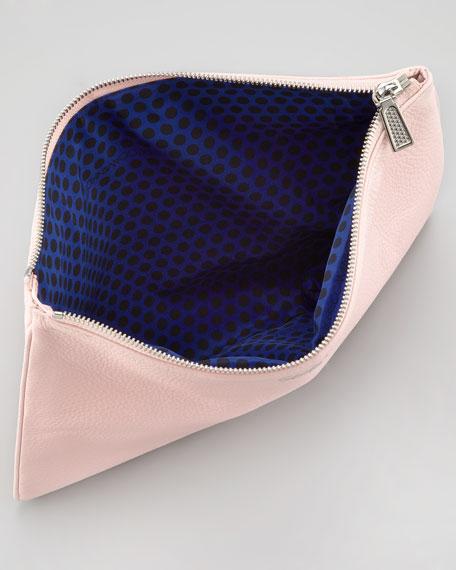 Lissa Secret Stash Pouch Clutch, Petal Pink