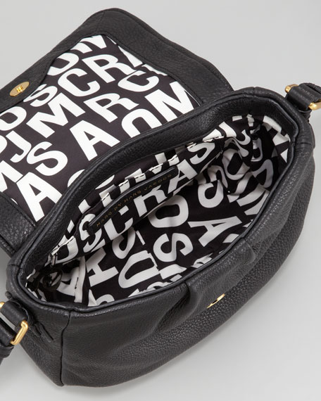 Classic Q Isabelle Crossbody Bag, Black