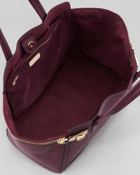 Verve Light Zip-Side Tote Bag, Purple