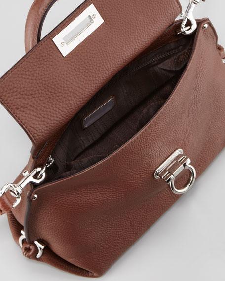 Sofia Mini Satchel Bag, Taupe