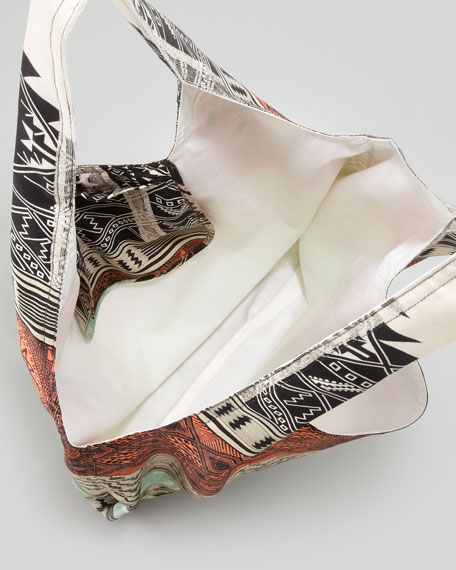 Pueblo Blanket Shopper Bag