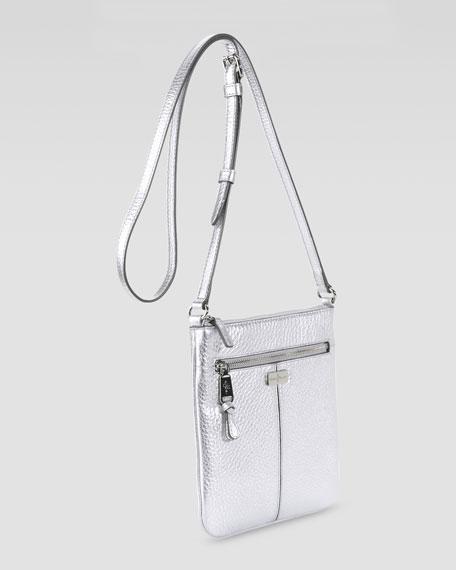 Village Swingpack Crossbody Bag, Silver