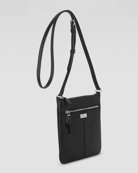 Village Swingpack Crossbody Bag, Black