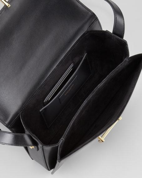 Medium Lulu Bag Black Shoulder Saint Laurent ZzOqw86n