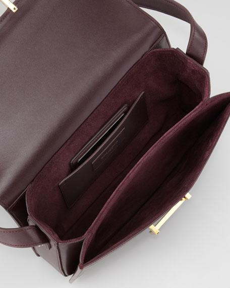Medium Lulu Shoulder Bag, Wine