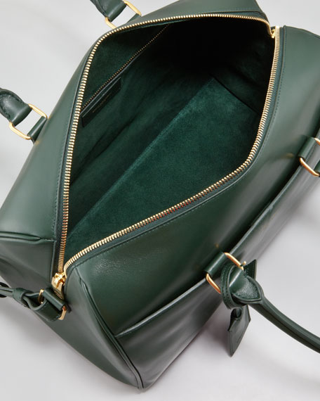 Small Duffel Saint Laurent Bag, Teal