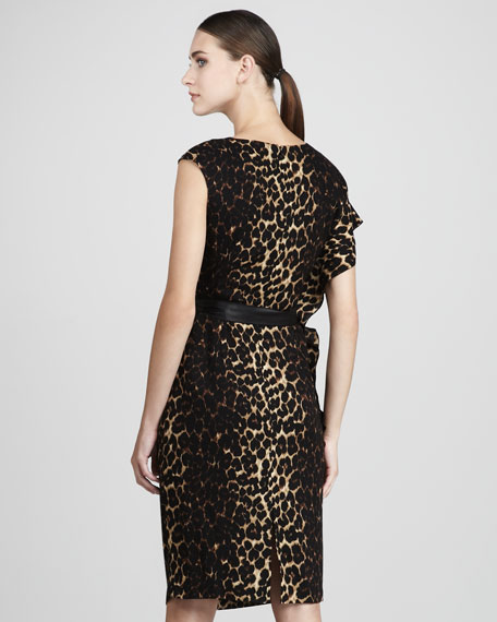 Talulah Leopard Dress