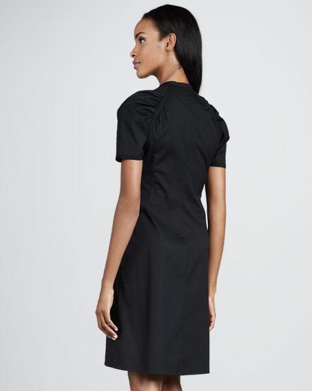 Ruch-Front Poplin Dress